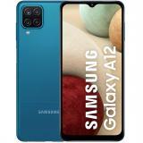 "Teléfono movil smartphone Samsung galaxy a12 blue 6.5"" / 64GB rom / 4GB ram / 48+5+2+2mpx- 8mpx /  ..."