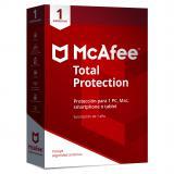 Antivirus mcafee total protection 2019 1 dispositivo