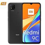 "Teléfono movil smartphone xiaomi redmi 9c gris medianoche 6.53"" / 64GB rom / 3GB  ram / 13+2+2mpx  ..."