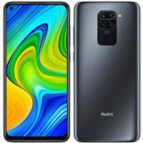 "Teléfono movil smartphone xiaomi redmi note 9 onix black / 6.53"" / 128GB rom / 4GB ram /  ..."
