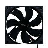 Ventilador auxiliar Phoenix phcoolerfan8 8cm / 3 a 4 pines / 2000rpm / 7 aspas / silencioso / color negro