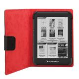 "Funda universal Phoenix phebookcase6+ para tablet / ebook  super fina / slim  hasta 6"""" negra simil  ..."