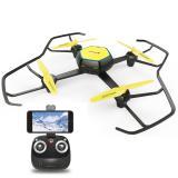Drone cuadricoptero Phoenix  phquadcoptermfpv 6 ejes / radio control / estabilizador altura hovering / cámara 360p  WiFi fpv / sin cabeza / auto despegue y aterrizaje / luces led / 2 velocidades negro