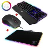 Kit <em>gaming</em> rGB Phoenix / teclado mecanico rGB con software / raton rGB con software / alfombrilla  ...