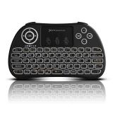 Mini teclado inalambrico wireless 2.4ghz Phoenix touchpad multimedia  smart TV / tvbox / android TV / color negro