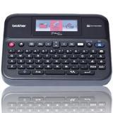 Rotuladora brother pt-d600vp lcd / teclado qwerty / USB
