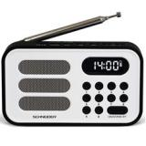 Radio digital schneider handy mini blanco