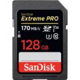 Tarjeta sandisk extreme pro sdxc card 128GB - 170mb / s v30 uhs-i u3