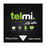 Tarjeta sim telmi telefonia movil 3g / 4g alta nueva