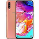 "Teléfono movil smartphone Samsung galaxy a70 rosa coral / 6.7"" / 128GB rom / 6GB ram / 32+5+8 mpx  ..."