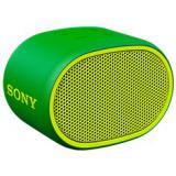 Altavoz sony  srsxb01g verde / inalambrico / extra bass / resistente al agua