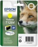 Cartucho tinta epson t1284 amarillo 3.5ml s22 / sx125 / sx420w / sx425w / bx305f / bx305fw / zorro