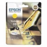Cartucho tinta epson t162440 amarillo  wf-2010 / 2510 / 2520 / 2530 / 2540 / pluma