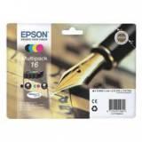 Multipack tinta epson t162640 wf-2010 / 2510 / 2520 / 2530 / 2540 / pluma