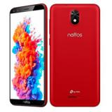 "Teléfono movil smartphone tp link neffos c5 plus rojo / 5.34"" / 16GB rom / 1GB RAM / 5mpx - 2mpx  ..."