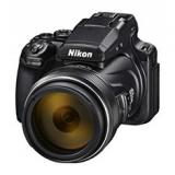 "Cámara nikon coolpix p1000 bridge 16mp / 3"" / zoom 83x / vr / full dh / WiFi / GPS / nfc"