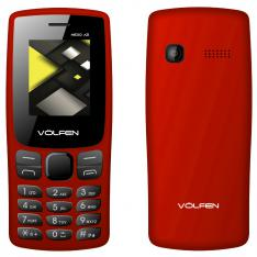 "TELEFONO MOVIL VOLFEN A2 ROJO PANTALLA 1.8""/ CAMARA /RADIO FM / DUAL SIM / MICRO SD / BATERIA LARGA DURACION"