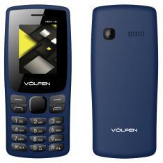 "TELEFONO MOVIL VOLFEN A2 AZUL PANTALLA 1.8""/ CAMARA /RADIO FM / DUAL SIM / MICRO SD / BATERIA LARGA DURACION"