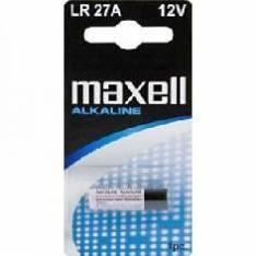 BLISTER MAXELL PILA ALCALINA 027A / LR-27A / 1 UNIDAD / MANDO COCHERA / CALCULADORA