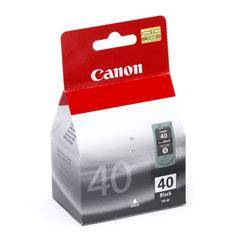 CARTUCHO TINTA CANON PG 40 NEGRO 16ML PIXMA 1600/ 2200/ 2600/ MP150/ 170/ 190/ 450/ PG40