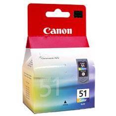 CARTUCHO TINTA CANON CL 51 TRICOLOR 21ML 2200/ 6210/ 6220/ MP150/ 170/ 450