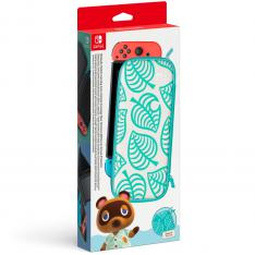 ACCESORIO NINTENDO SWITCH - FUNDA + PROTECTOR SWITCH EDICION ANIMAL CROSSING: NEW HORIZONS
