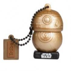 MEMORIA USB 2.0 TRIBE 16 GB TLJ BB8 GOLD