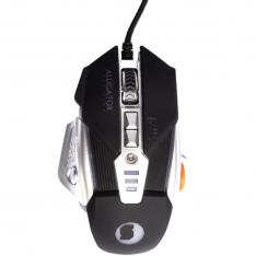 MOUSE RATON SILVER HT ALLIGATOR PRECISSION PRO USB GAMING LED