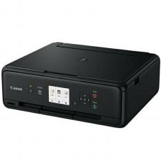 MULTIFUNCION  CANON TS5055 INYECCION COLOR PIXMA A4/ 12.6PPM/ 4800PPP/ USB/ WIFI/ NEGRO