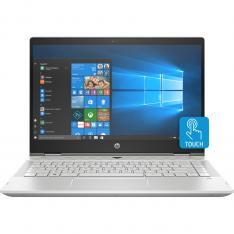 "PORTATIL PAVILION HP 14-DH0006NS I7-8565U 14"" TACTIL 8GB / SSD256GB / GF MX250 2GB/ WIFI / BT / W10/ PLATA/ 360"