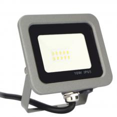 Foco proyector LED Silver Electronics Forge IPS 65 10W/ 5700K luz fria/ 800lm color Gris