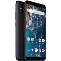 "TELEFONO MOVIL SMARTPHONE XIAOMI MI A2 BLACK 5.99""/ 64GB ROM/ 4GB RAM/ DUAL CAMERA 12+20 Mpx/ CAMARA DELANTERA 20 Mpx/ 18:9 / HUELLA/ 3000 mAh/ Android One"