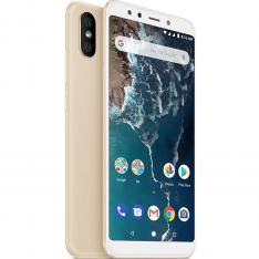 "TELEFONO MOVIL SMARTPHONE XIAOMI MI A2 GOLD 5.99""/ 64GB ROM/ 4GB RAM/ DUAL CAMERA 12+20 Mpx/ CAMARA DELANTERA 20 Mpx/ 18:9 / HUELLA/ 3000 mAh/ Android One"