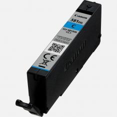CARTUCHO TINTA CANON CLI 581 C XXL CIAN PIXMA TR7550 / TR8550 / TS6150 / TS6151 / TS8150 / TS8151 / TS8152 / TS9150 / TS9155