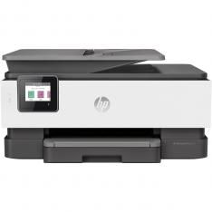 MULTIFUNCION HP INYECCION COLOR OFFICEJET PRO 8022 FAX  A4  29PPM  RED  WIFI  DUPLEX IMPRESION  ADF