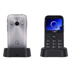 TELEFONO MOVIL ALCATEL 2019G METALIC SILVER   2MP   16MB ROM   8MB RAM   2MPX   SINGLE SIM