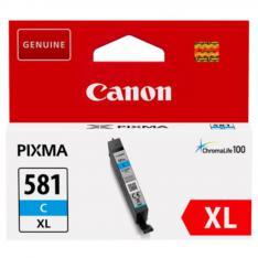 CARTUCHO TINTA CANON CLI 581 C XL CIAN PIXMA TR7550 / TR8550 / TS6150 / TS6151 / TS8150 / TS8151 / TS8152 / TS9150 / TS9155