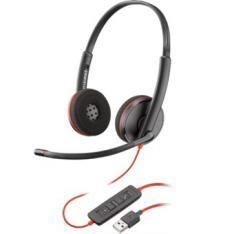 AURICULAR PLANTRONICS BLACKWIRE C3220 USB / BINAURAL / STEREO