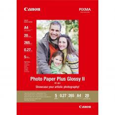 PAPEL FOTOGRAFICO CANON 2311B019 BRILLO II PLUS PP-201 A4/ 20 HOJAS