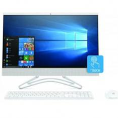 ORDENADOR ALL IN ONE HP 24-F0035NS I3-8130U 23.8 8GB   SSD256GB   UHD GRAPHICS 620   WIFI   BT   W10   PANTALLA TACTIL  BLANCO