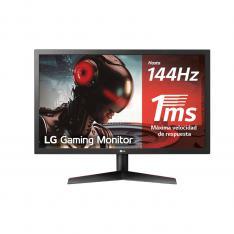 "MONITOR LED LG 24GL600F-B 23.6"" 1920 X 1080 1MS HDMI DISPLAY PORT GAMING"