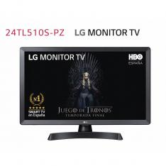 MONITOR TV LED LG 23.6 24TL510S-PZ 1366 X 768 HDMI USB DVB-T2 WIFI SMART TV