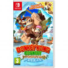 JUEGO NINTENDO SWITCH - DONKEY KONG COUNTRY: TROPICAL FREEZE