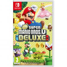 JUEGO NINTENDO SWITCH - NEW SUPER MARIO BROS U DELUXE
