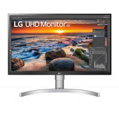 "Monitor LED IPS LG 27UN83A-W 27"" 3840 x 2160 5ms HDMI Display Port USB TIPO C altavoces"