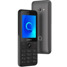 "TELEFONO MOVIL ALCATEL 3088 METALLIC GRAY / 2.4"" / 4GB ROM / 512MB RAM / DUAL SIM / WIFI / 4G"