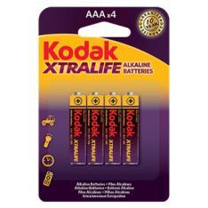 BLISTER KODAK XTRALIFE ALCALINA 4 PILAS AAA LR3 1.5V