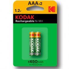 BLISTER PILAS KODAK RECARGABLES NI-MH AAA LR3 650MAH/ BLISTER 2 PILAS