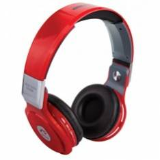 AURICULARES  REPRODUCTOR  MP3 WOO PS400B/ BLUETOOTH/ MICROFONO/  FM / MICRO SD / MANOS LIBRES/  ROJO