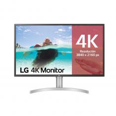 MONITOR LED IPS LG 32UL750-W 31.5 3840 X 2160 4MS HDMI DISPLAY PORT USB-C ALTAVOCES